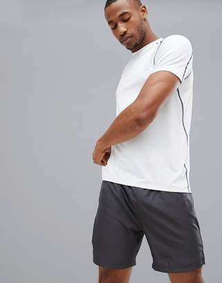 New Look SPORT stretch t-shirt in white