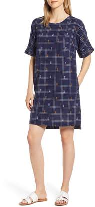 Caslon Jacquard Shift Dress