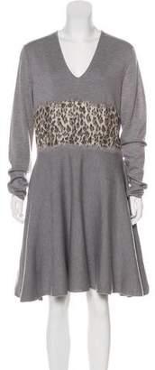 Giambattista Valli Knee-Length Wool Dress