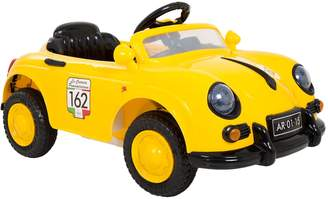 Lil Rider Lil' Rider Yellow 58 Speedy Sportster Classic Car Ride-On with Remote