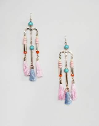 Pieces Tassle Dangle Earrings