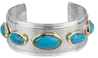 Sam Edelman Stone Inlay Cuff Bracelet