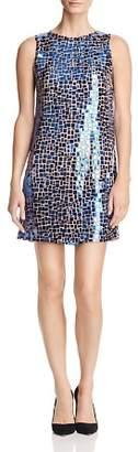 Alice + Olivia Clyde Embellished A-Line Shift Dress