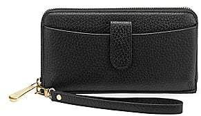 GiGi New York Women's Large City Leather Phone Wallet
