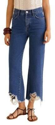 MANGO Vintage Flared Jeans