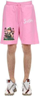 Sunset Soldiers Apocalypse Cotton Shorts