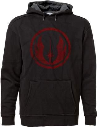 Star Wars BSW Men's JEDI Order Vintage Style Logo Premium Hoodie XS Blk/Charc