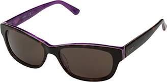 GUESS Women's Acetate Rectangle Polarized Rectangular Sunglasses