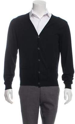 Lanvin V-Neck Cardigan Sweater