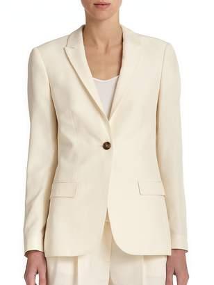 Burberry Women's Larston Silk Suiting Jacket