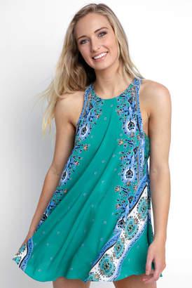Free People Darjeeling Printed Slip Dress
