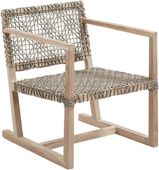 Linea Furniture Natural Aldo Rope Outdoor Armchair