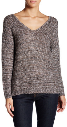 14th & Union Double V-Neck Sweater (Petite) $26.97 thestylecure.com