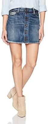 True Religion Women's Steph Hem Mini Skirt