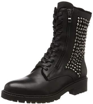 Cinti Women DF15040B-013 Combat Boots Black Size: