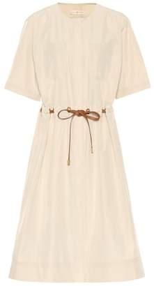 Tory Burch Belted cotton-blend dress