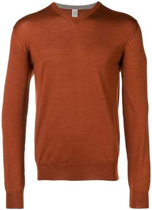 Eleventy V-neck jumper