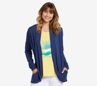 Life is Good Daisy Embroidery Supreme Blend Cardigan