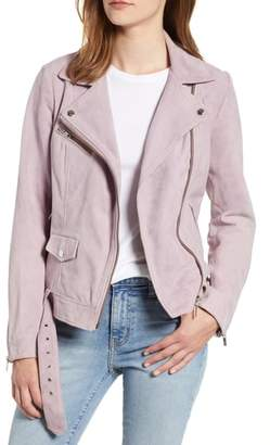 Scotch & Soda Suede Biker Jacket