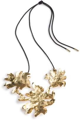 Natori Josie Gold Brass Triple Necklace