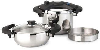 Berghoff Eclipse Five-Piece Pressure Cooker Set