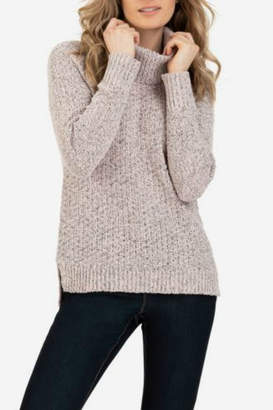 Tribal Long sleeve cowl neck sweater