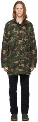 Nonnative Green Camo Trooper Coat