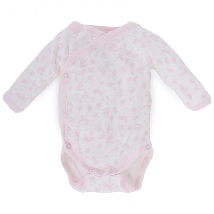Petit Bateau Long Sleeve Toy Print Body