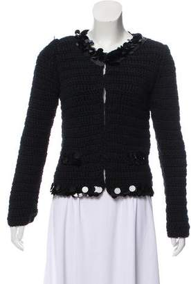 Dolce & Gabbana Embellished Knit Jacket