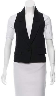 Phi Notch-Lapel Wool Vest