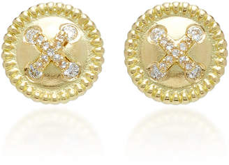 Jamie Wolf M'O Exclusive Neo Classical Button Stud