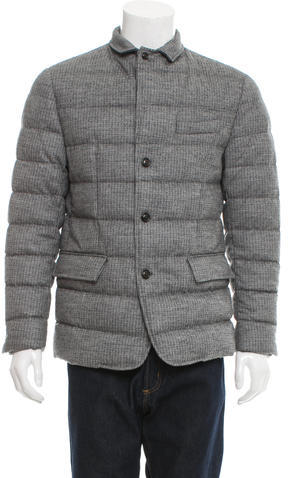 MonclerMoncler Rodin Quilted Down Sport Coat w/ Tags
