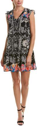 Tolani Daya Silk Shift Dress