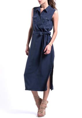 A.N.A PEREZ Blue Eco Dress