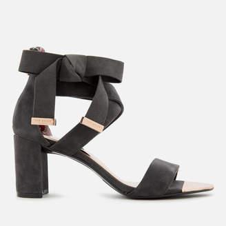 Ted Baker Women's Noxen 2 Suede Block Heeled Sandals