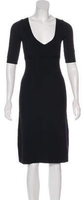 Susana Monaco Merino Wool Knee-Length Dress