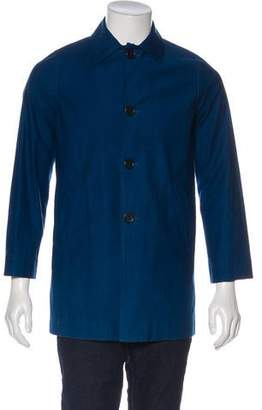 Blue Blue Japan Woven Moleskin Coat