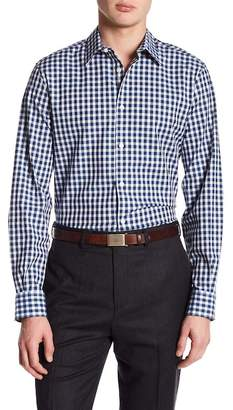 Perry Ellis Checkered Regular Fit Shirt