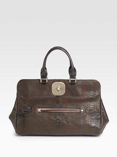 Longchamp Double Handle Gatsby Bag
