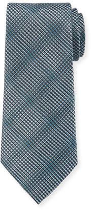 Giorgio Armani Men's Textured Woven Jacquard Tie