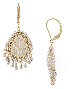 Dana Kellin Tasseled Teardrop Drop Earrings