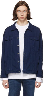 Naked & Famous Denim Denim Indigo Oversized Sashiko Jacket