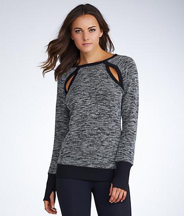 2(x)ist Cutout Sweatshirt