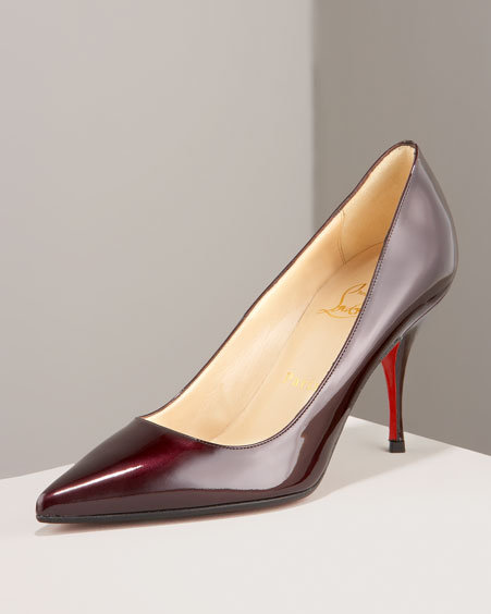 Christian Louboutin Patent Leather Heel