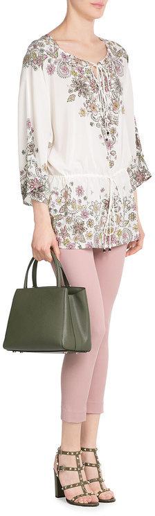 Roberto CavalliRoberto Cavalli Embellished Silk Tunic