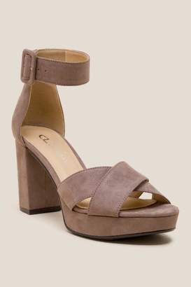 Laundry by Shelli Segal Cl By Laundry CL by Laundry Gala Platform Heel - Taupe
