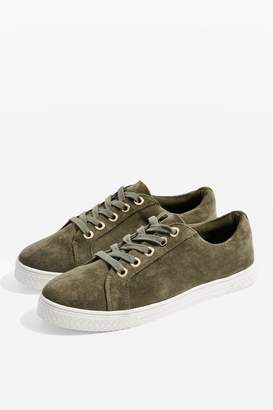 Topshop WIDE FIT City Drench Trainers