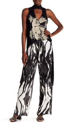 Religion Contour Printed Trousers