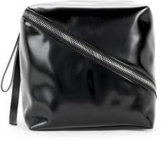 Proenza Schouler Cube Leather Clutch