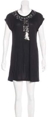 Givenchy Embellished Scoop Neck Tunic